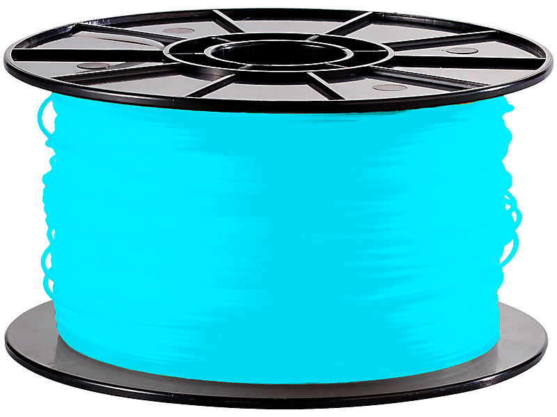 freesculpt abs filament f r 3d drucker mm 1kg blau. Black Bedroom Furniture Sets. Home Design Ideas