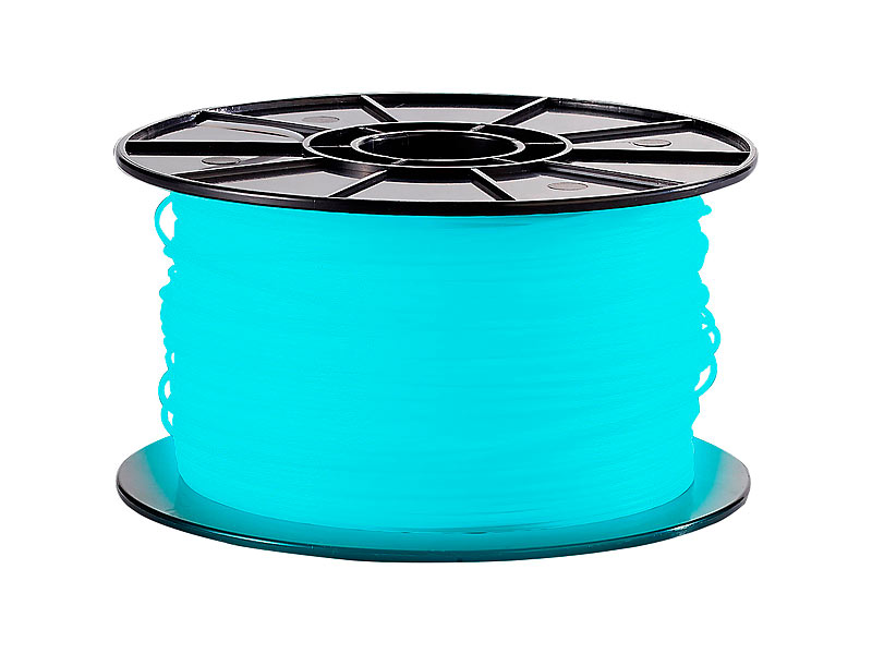 freesculpt abs filament f r 3d drucker glow in the dark 1kg blau. Black Bedroom Furniture Sets. Home Design Ideas